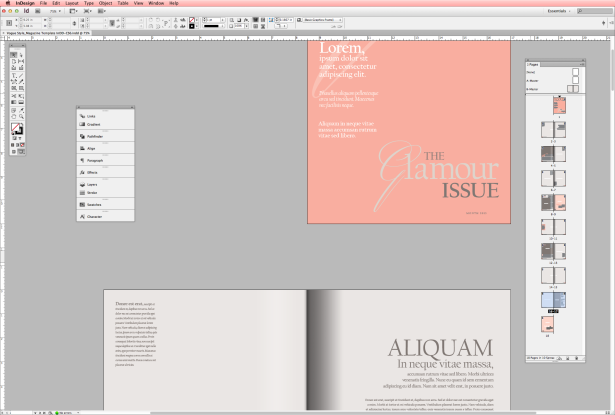 how to import a multipage pdf into indesign